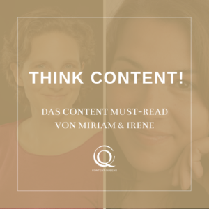 Content Queens Global: Think Content! Buch