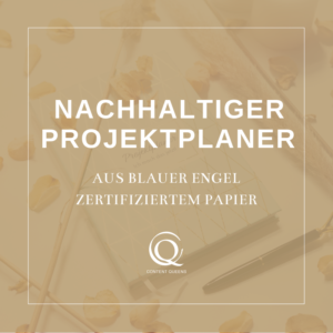 Content Queens Global: Projektplaner businesszeug.com