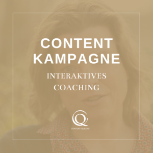 Content Queens Global Content Kampagne
